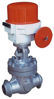 Motorised Electrical Actuator Operated Gate Valve