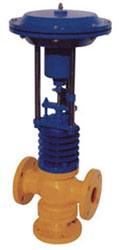 Spring & Diaphragm actuated operated Globa Valve